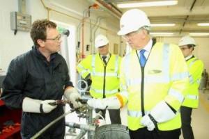Michael Fallon visiting Sundridge Training Centre 2