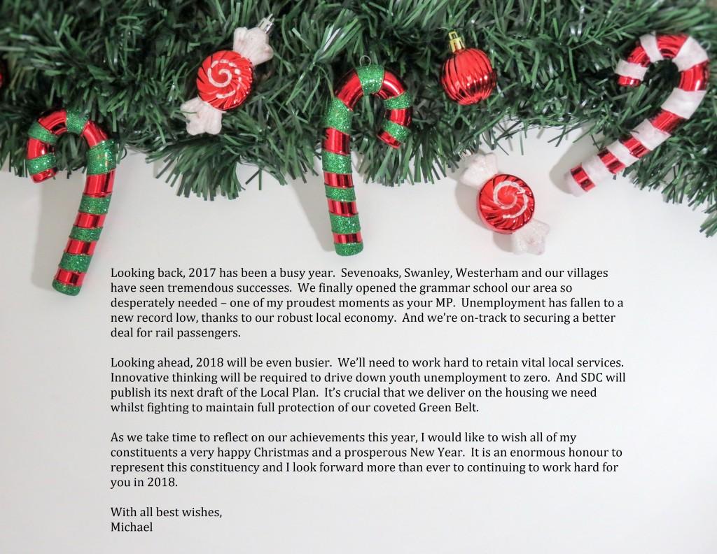 Xmas Message Website