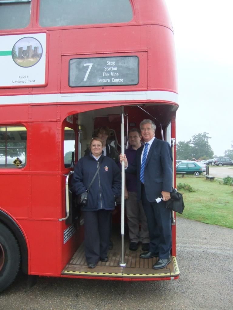 Sevenoaks Town Vintage Bus
