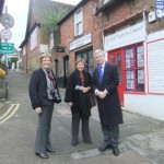 Westerham Small Business Day with Cllr Helen Ogden and Jane Hunter from the Westerham Town Partnership