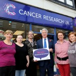 Volunteers and staff at Cancer Research Sevenoaks