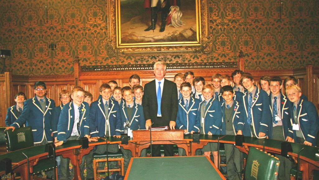 Solefields School visit to the House of Commons