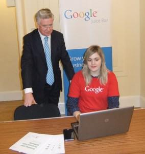 Google came to Sevenoaks in April 2014