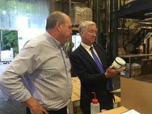 Michael Fallon Darent Wax tour