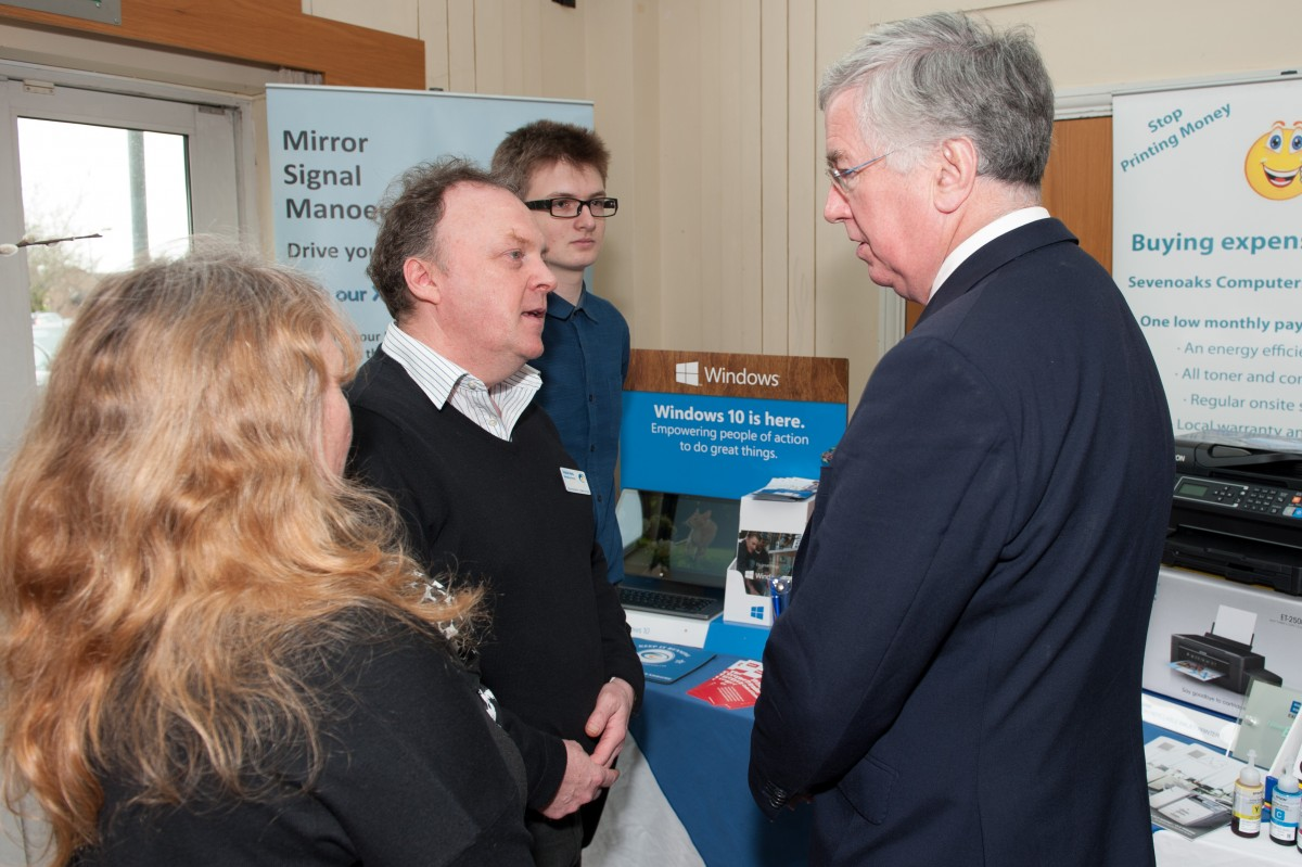 Sevenoaks MP praises local businesses ahead of sixth annual Sevenoaks Business Show