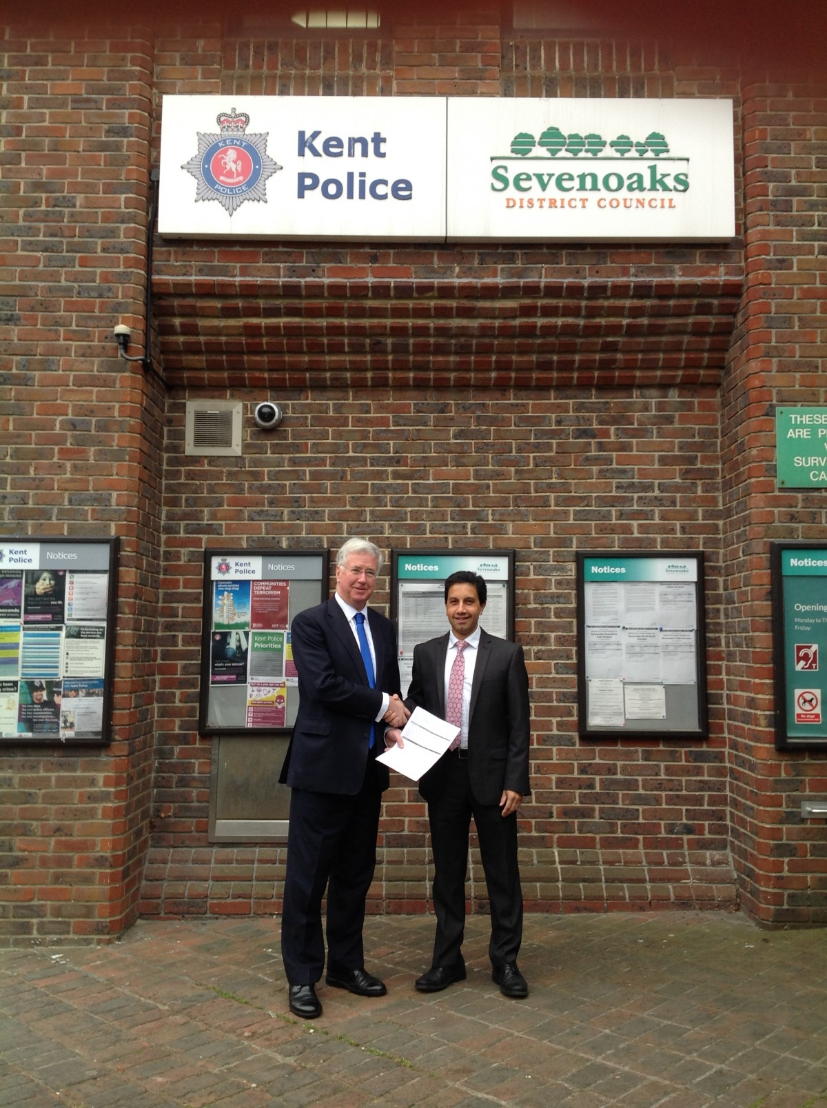 Michael becomes official Conservative candidate for Sevenoaks