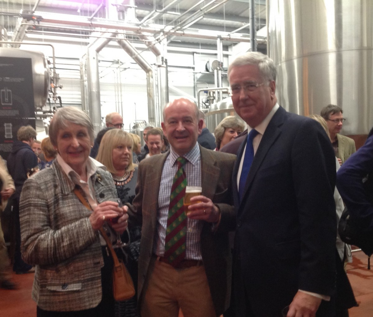 Fallon Raises Glass to New Brewery