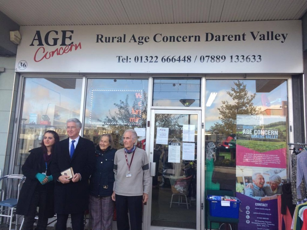 Outside Rural Age Concern Darent Valley