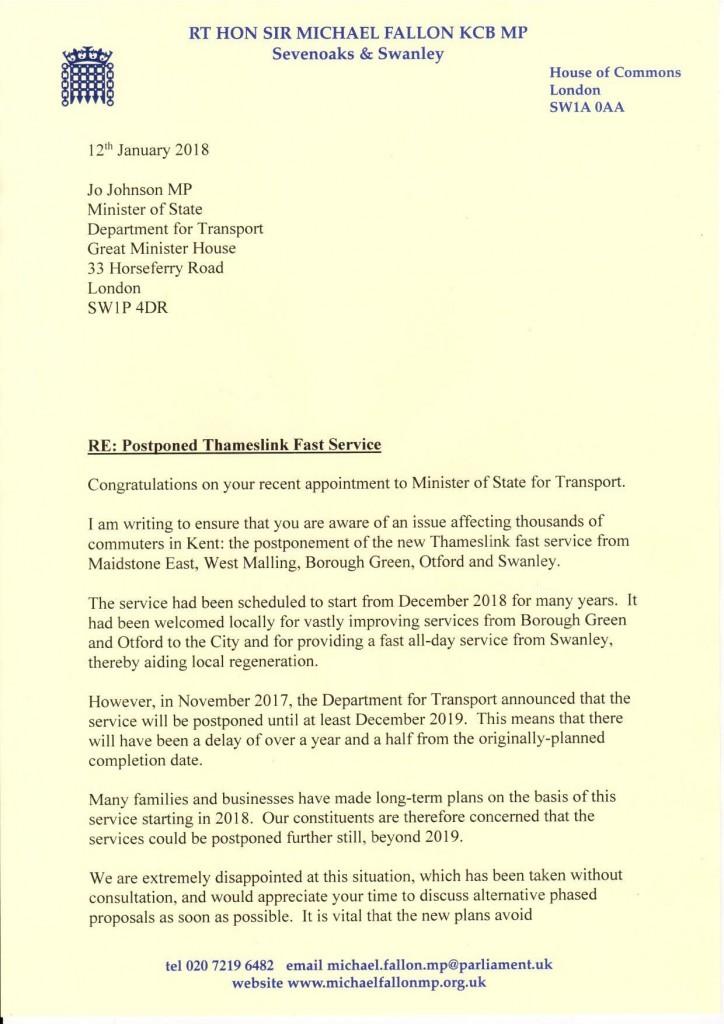 Kent MPs Letter to Rail Minister on Postponed Thameslink Fast Service 12 Jan 18-page-001