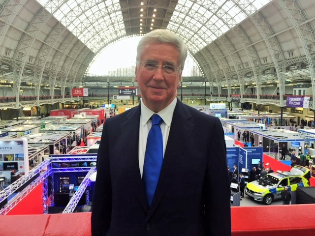 Hosting the Counter Terror Awards, Olympia, London