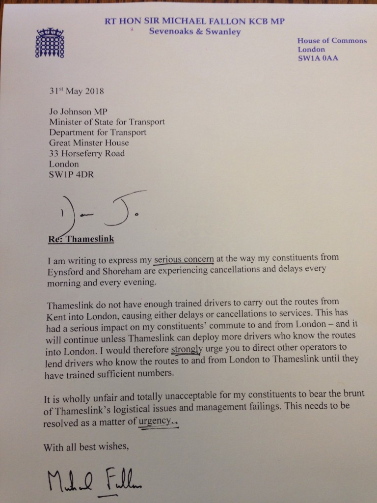 Letter to Jo Johnson