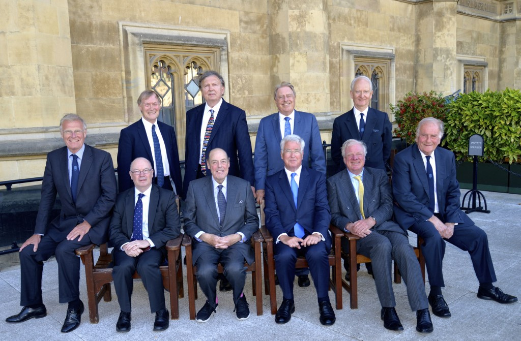 Back row: Sir David Amess (Basildon), Sir Greg Knight (Derby North), Sir David Evennett (Erith and Crayford), Sir Henry Bellingham (North West Norfolk) Front row: Sir Christopher Chope (Southampton Itchen), Alistair Burt (Bury North), Sir Nicholas Soames (Crawley), Sir Michael Fallon, (Darlington), Sir Edward Leigh (Gainsborough & Horncastle), Sir Roger Gale (North Thanet)