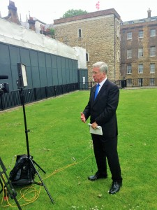 Sir Michael speaks to BBC SE