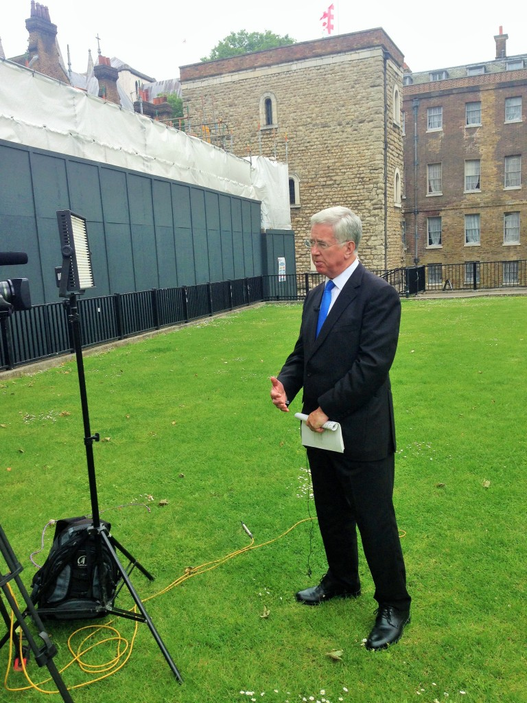 Sir Michael speaks to BBC SE
