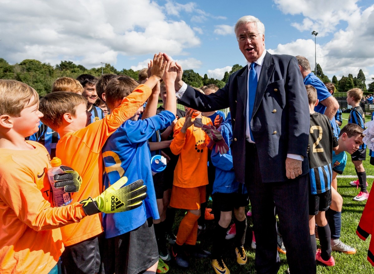 Fallon Fielded for 3G Pitch Opening