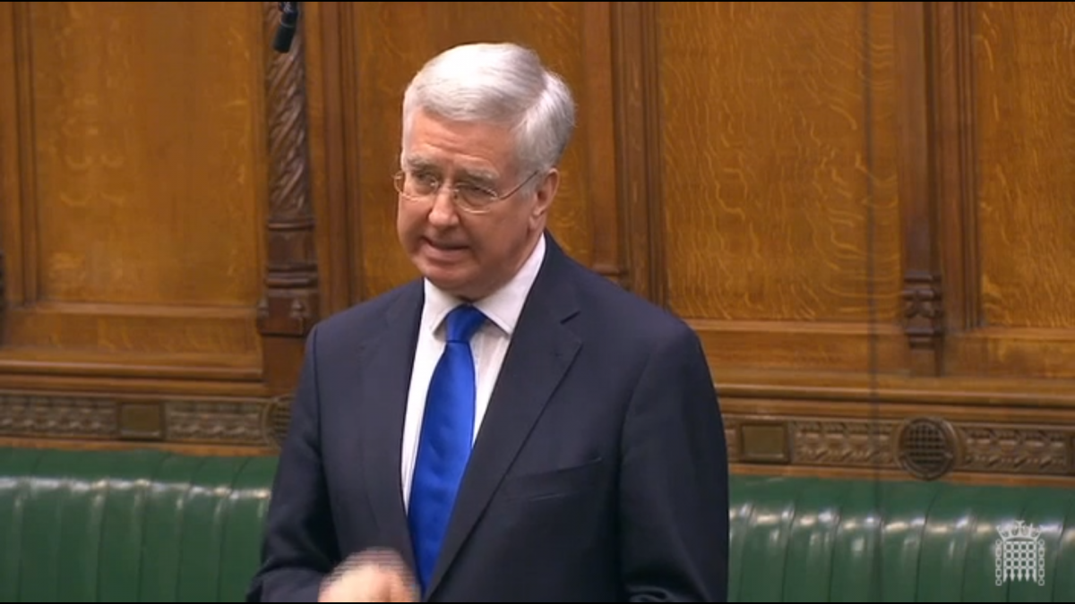 Fallon on Importance of Diversity in Defence