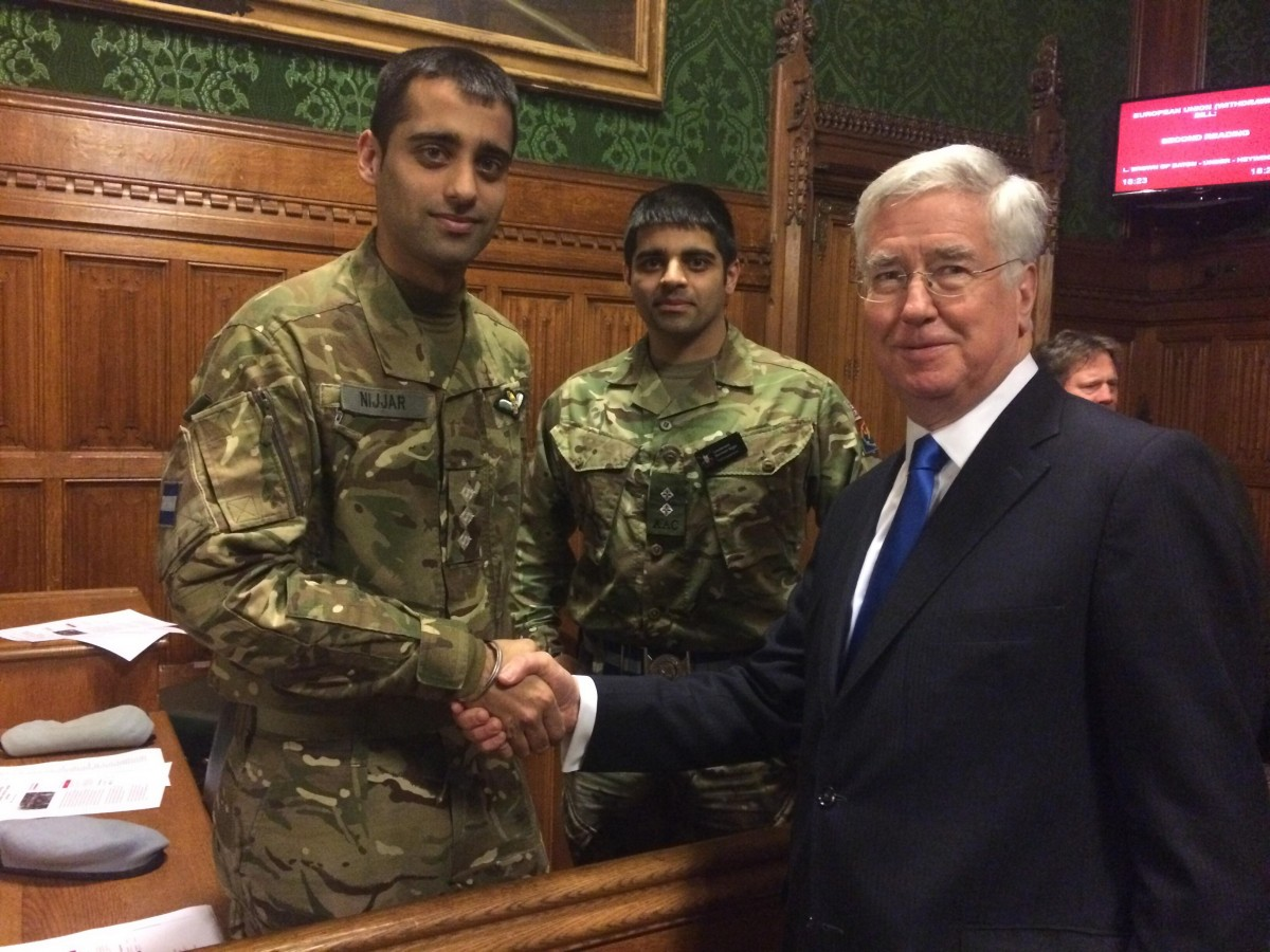 Honouring Sikh Servicemen in Parliament